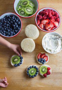 Recipe: Mini Fruit Pizzas — Dessert Recipes from The Kitchn