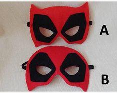 Superwoman inspired felt mask. Superhero mask. Superwoman | Etsy Masquerade Mask Template, Felt Mask, Mask Party, Finger Puppets, Halloween Masks, Powerpuff Girls, Superhero, Inspired, Etsy