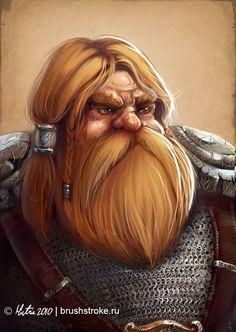 Dwarf by AppleSin on deviantart