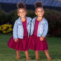 People say we look alike  #twins #fashionkidz #fashionkids #fashion #identicaltwins #mixed #mixedgirl #curlygirl #cutekids #boots #westorange #interracial #biracial #sisters #browneyes #browngirls #prettydress #instagood #adorable #socute #mcclure #blackbeautiful_classy  #curls #naturalhair