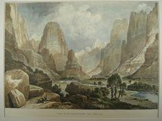 Valley of the Babbling Water , UT, 1874, Thomas Moran, Artist