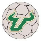 Ncaa University of South Florida Cream (Ivory) 2 ft. 3 in. x 2 ft. 3 in. Round Accent Rug