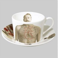 Lisa Turner  Anatomica coffee set