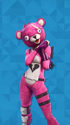 #fortnite #ValenitesBear #Bear #oso #rosa #pink