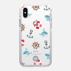 Nautical Necessities Clear Case by Wonder Forest