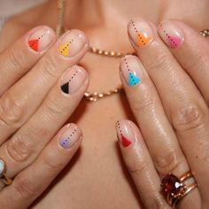 35 Creative DIY Nail Art for Summer this Year – HAIR&NAILS – added to our site quickly. hello sunset today we share 35 Creative DIY Nail Art for Summer this Year – HAIR&NAILS – photos of you among the popular hair designs. You can look at all images and … Nail Art Diy, Diy Nails, Manicure Ideas, Nail Ideas, Dot Nail Art, Pedicure, How To Nail Art, Chic Nail Art, Nail Polish Art