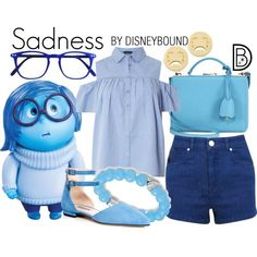 Disney Bound - Sadness