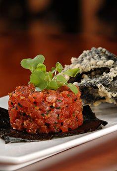 Ahi tuna appetizer,,,,,Our favorite at Grappa!