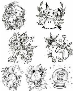 Looks like I found my first tattoo. I love those desi. - Looks like I found my first tattoo. I love those designs! Future Tattoos, Love Tattoos, Body Art Tattoos, Flash Art Tattoos, Pokemon Tattoo, Nintendo Tattoo, Gaming Tattoo, Tattoo Geek, Gamer Tattoos