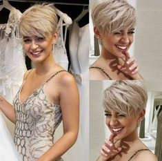 Short haircuts are very trendy among women of all age groups. Even short hair can give the impression of feminine and fresh. It can also make you prefer and grace. If you want something sweet, you …