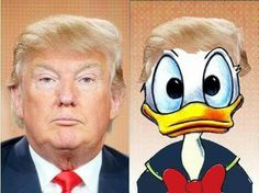 QUACK !!! If it looks like a duck, and it quacks like a duck... then you don't want it for president.