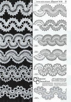 View album on Yandex. Crochet Table Runner Pattern, Crochet Motif Patterns, Crochet Lace Edging, Crochet Tablecloth, Crochet Chart, Irish Crochet, Crochet Designs, Crochet Waffle Stitch, Crochet Flower Tutorial
