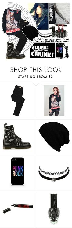 Haters gonna hate, cncc by zombielover100 on Polyvore featuring Paige Denim, Dr. Martens, Charlotte Russe and Samsung