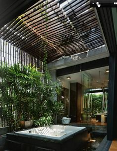 Urban Industrial Decor Tips - Traumhaus Dream Home Design, My Dream Home, Home Interior Design, Exterior Design, Interior And Exterior, Zen House Design, Dream Homes, Garden Design, Architecture Design