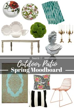 Create the Perfect Outdoor Patio Inspired by Wayfair