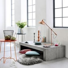 cuivre et meuble blanc - Recherche Google
