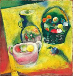 Marc Chagall ~ Nature morte, 1910-14