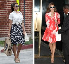 Eva Mendes style inspiration
