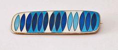 David-Andersen Enamel & Sterling Pin