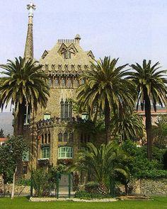 Otras realizaciones / Arquitectura / Casa Bellesgard-1900-1909 - Barcelona - A.GAUDI  !