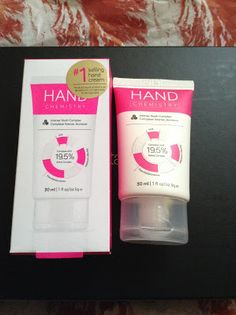 Hand Chemistry hand cream | Beauty Notes by Athina Hand Cream, Chemistry, Notes, Hands, Beauty, Report Cards, Notebook, Beauty Illustration