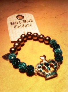 The latest addition to the Hard Rock Couture range - this bracelet is now available in our Rock Shop for £13.75