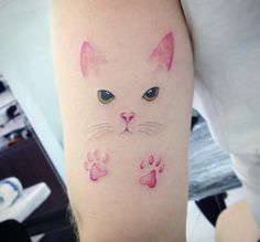 Kitten tattoo - 37 Cat Tattoos Designs And Ideas For Cat Lovers Page 7 of 37 – Kitten tattoo Lucky Cat Tattoo, Kitten Tattoo, Cute Cat Tattoo, Mini Tattoos, Body Art Tattoos, Small Tattoos, Cat Tattoos, Tatoos, Cat Tattoo Designs