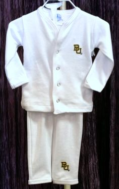 Atlanta Hosiery Inc // Atlanta Hosiery Inc Baylor Infant Pajama Set
