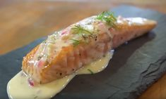 Salmon with Garlic Butter Sauce Garlic Butter Sauce, Cooking Network, Weekly Menu, Sushi, Salmon, Seafood, Cooking Recipes, Favorite Recipes, Ethnic Recipes