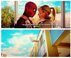 The Amazing Spider-Man. This is so funny out of context!