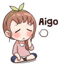 Equivalent à un soupir en français Pop Stickers, Kawaii Stickers, Bts Chibi, Anime Chibi, Kawaii Chibi, Cute Bear Drawings, Korean Expressions, Korean Stickers, Korean Anime