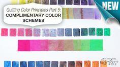 Quilting Ideas: Quilting Color Principles Part 5