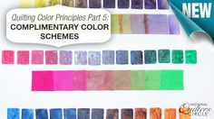 In part 5 of 5, the #quilting color principles, learn how blending complimentary colors can make the quilt pleasant and chic. http://www.nationalquilterscircle.com/article/quilting-color-principles-part-5-complementary-color-schemes/?utm_source=pinterest&utm_medium=organic&utm_campaign=A228 #LetsQuilt