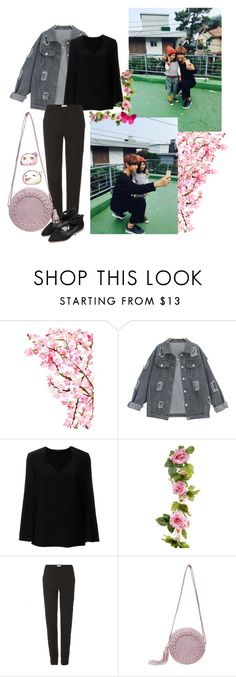 """""""BTS V"""" by banana-lee ❤ liked on Polyvore featuring Etro and Helmut Lang"""