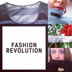 INSPIRATION // It's Fashion Revolution Day & the Stitched Up team want to know #WhoMadeMyClothes - Lucy Bryony Alison & Sarah want to hear from @topshop @asos @marksandspencer @lauraashleyuk #FashRev Re-post by Hold With Hope