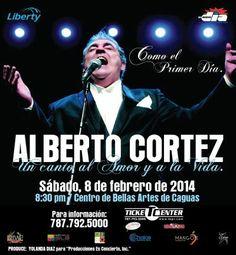 Alberto Cortez: Como el Primer Día @ Centro de Bellas Artes, Caguas #sondeaquipr #albertocortez #cba #caguas