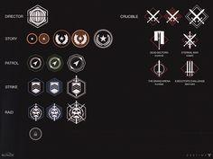 Destiny Iconography + 2D art on Behance