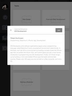 Modal for summaries (Treehouse)