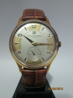 Vintage Girard Perregaux Design TWO Tones Girard Perregaux, Two Tones, Wristwatches, Luxury Watches, Omega Watch, Presents, Accessories, Vintage, Ebay