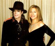 Michael Jackson and Barbara Streisand