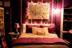 I love this idea.  I like the lights, the color, everything.  But I don't think it would be something I would do.