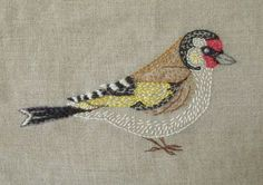 Bird embroidery are the best!