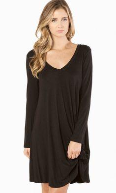 Back To Basics Dress in Black