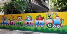 play school wall paintings picture educational pre primary s.- play school wall paintings picture educational pre primary school kindergarten s… play school wall paintings picture educational pre primary school kindergarten school office School Wall Decoration, School Decorations, Classroom Walls, Classroom Decor, Classroom Charts, Mural Painting, Wall Paintings, Art Drawings For Kids, Art For Kids