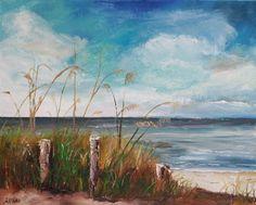Blind Pass Beach Painting  - Blind Pass Beach Fine Art Print