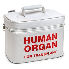 Organ Transport Lunch Cooler..I need this!