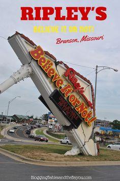 Ripley's Believe It Or Not! Odditorium – Branson Missouri #ExploreBranson #BayouTravel