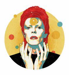 Rock 'n' Draw | David Bowie y las estrellas