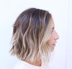 Brown blonde balayage #hair