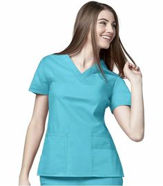 WonderWink lab coats, scrub tops pants for men and women, all designed with your needs in mind. The Original WonderWink Scrub Shop--Expect Compliments! Scrub Shop, Nursing Tops, Nursing Scrubs, Lab Coats, Female Shorts, Medical Uniforms, Medical Scrubs, V Neck Tops, Work Wear
